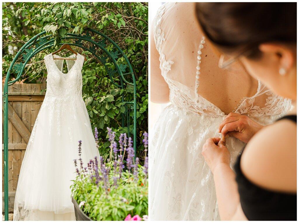 Sheldon & Amy - Besant Campground Wedding - 01 - Bridal Preparation