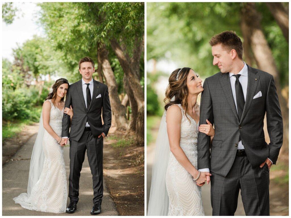 Taylor & Jolene - White City Wedding - 17 - Groom's suit by Colin O'Brian Manshoppe