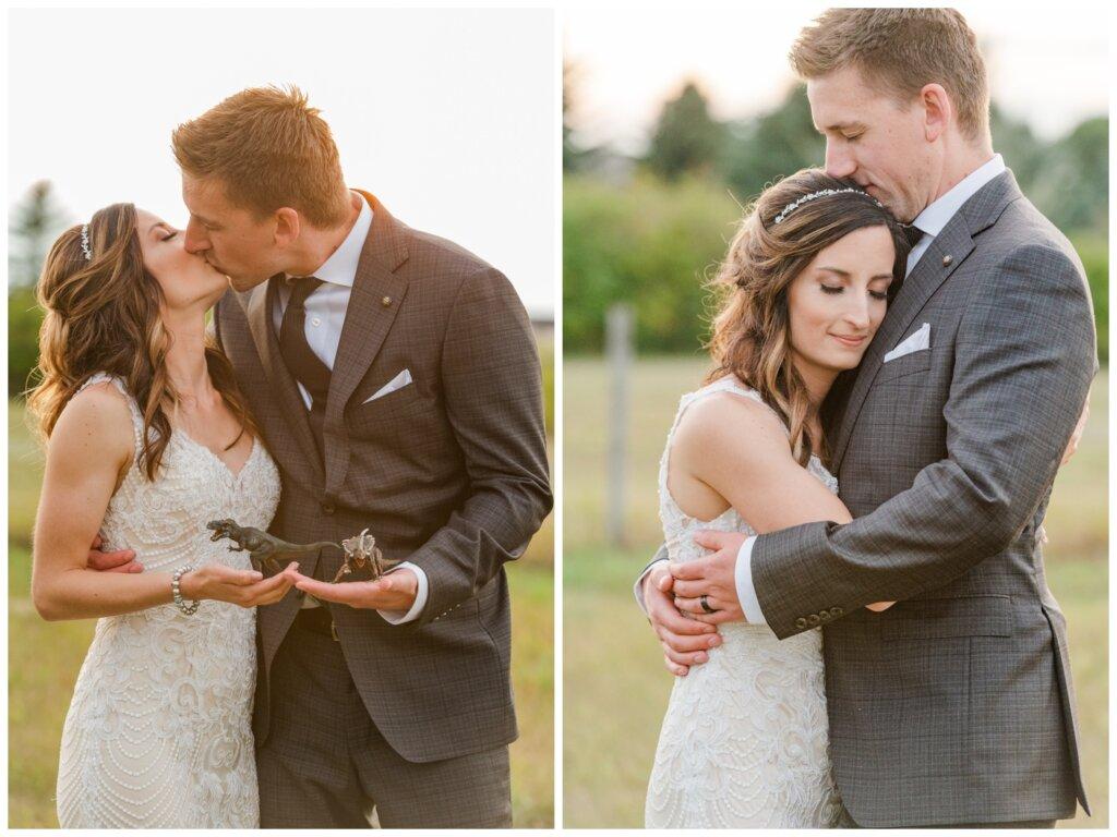 Taylor & Jolene - White City Wedding - 42- Bride and Groom at Golden Hour