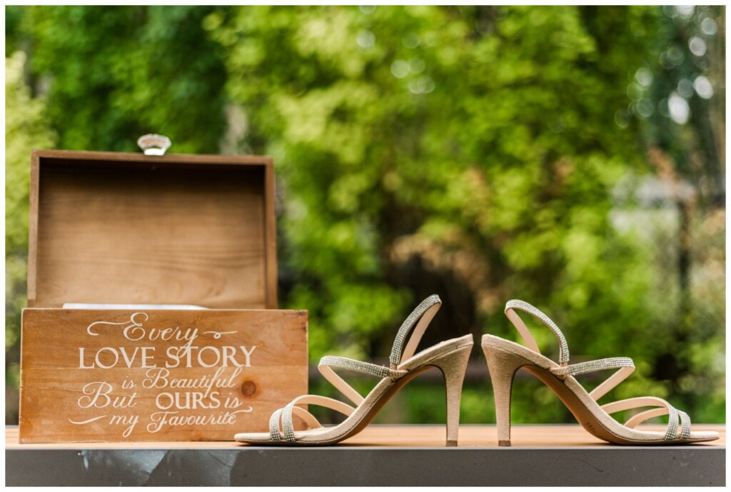 Andrew & Lacey - 06 - Bride's Steve Madden Shoes