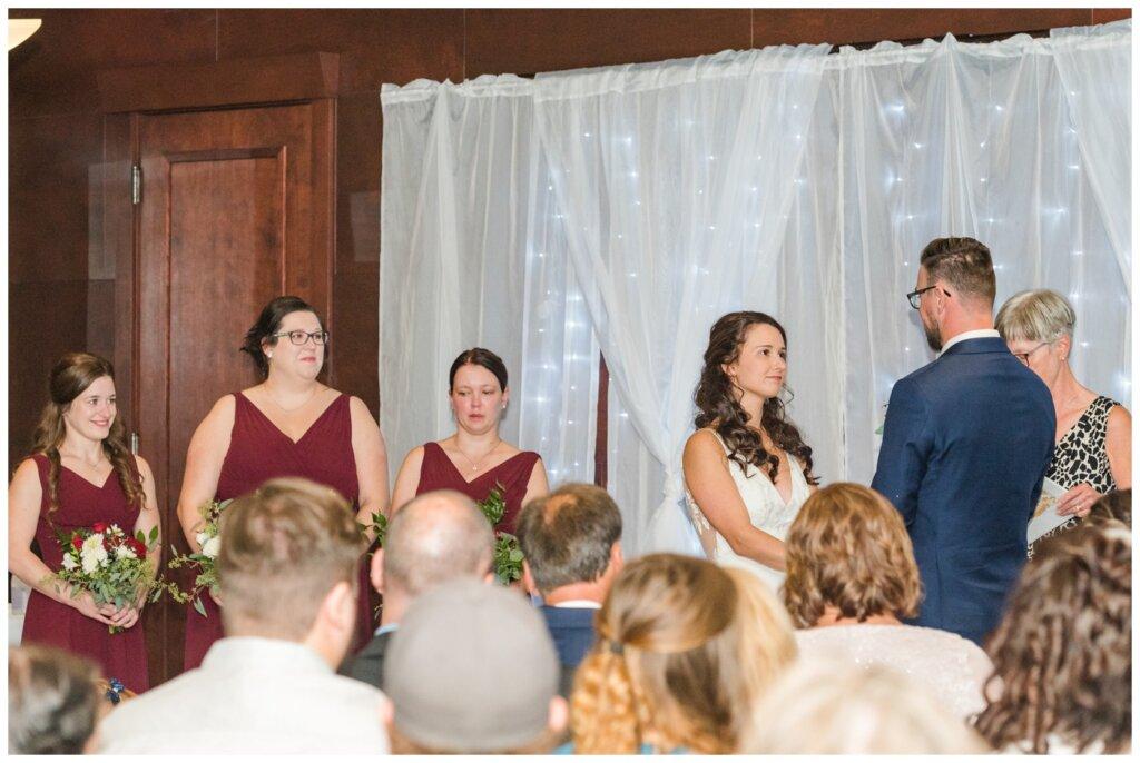 Andrew & Lacey - 14 - Sandman Hotel Indoor Wedding Ceremony