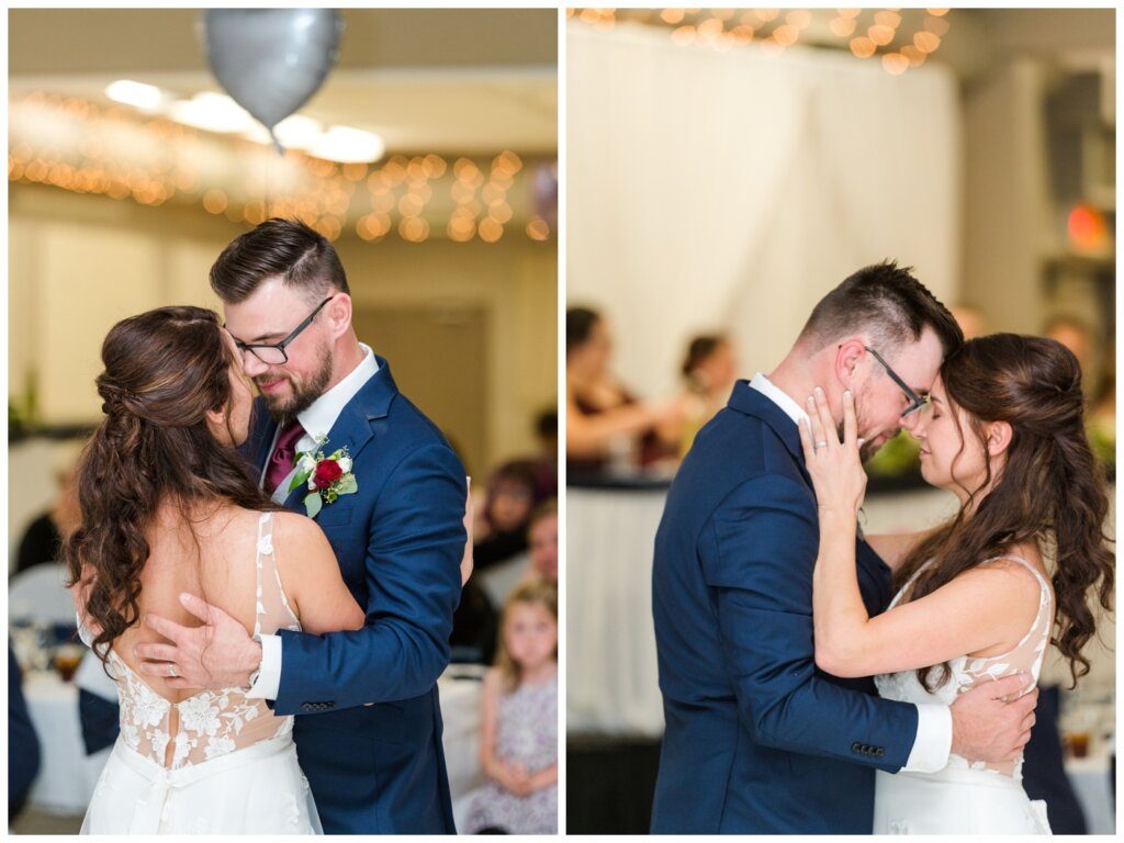 Andrew & Lacey - 44 - First Dance of Bride and Groom at White City Community Centre