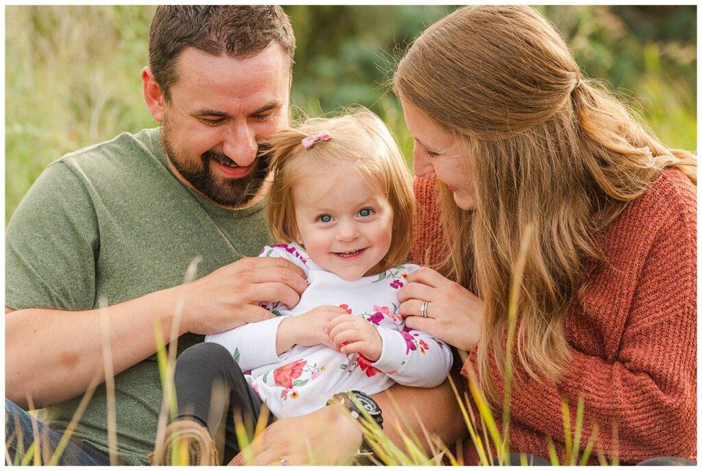 Eyre Family 2021 - AE Wilson Park - Family Photo Shoot - 15 - Family snuggle